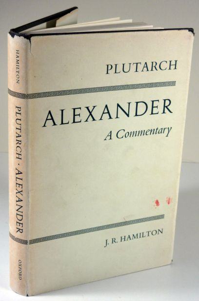Image for Plutarch  Alexander : a commentary