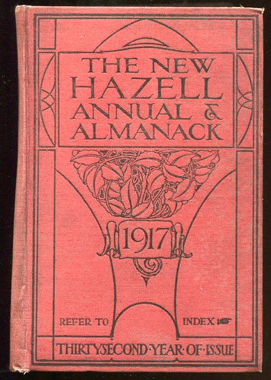 Image for The New Hazell Annual and Almanack for the Year 1917
