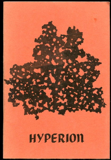 Image for Hyperion A Poetry Journal.  Volume IV, Winter Issue 1971