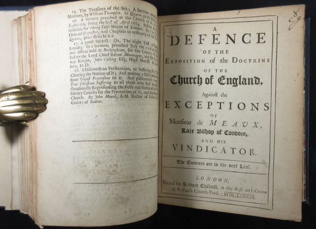 Image for Sammelband of Eight Anti-Catholic Tracts Printed in England during the Restoration between 1679-1687