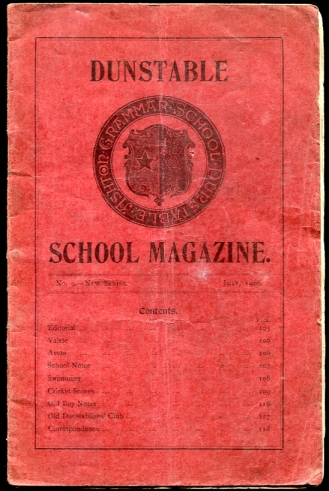 Image for Dunstable School Magazine, July 1906 No. 9 - New Series