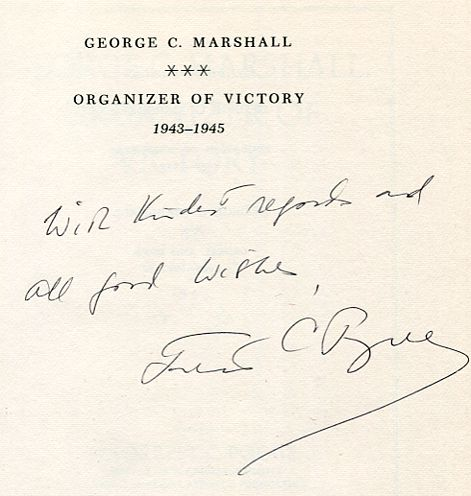 Image for George C. Marshall: Organizer of Victory, 1943-1945