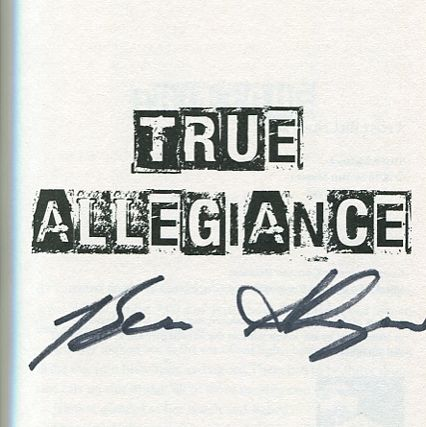 Image for True Allegiance Signed by Shapiro