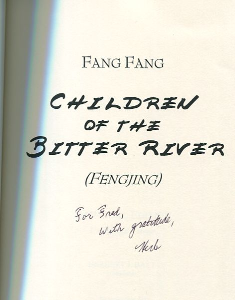 Image for Children of the Bitter River (Fengjing) Bilingual Edition English & Chinese