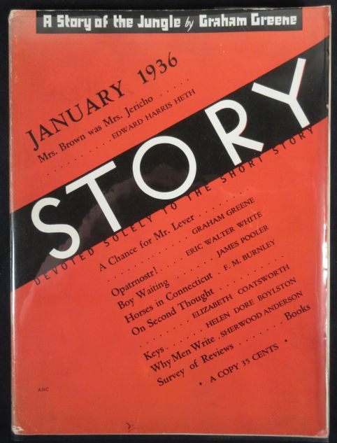 Image for Story. January 1936. Vol. VIII No. 42 Devoted Solely to the Short Story