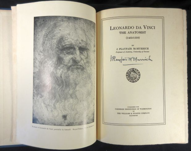 Image for Leonardo Da Vinci,  The Anatomist (1452-1519).  Signed by McMurrich